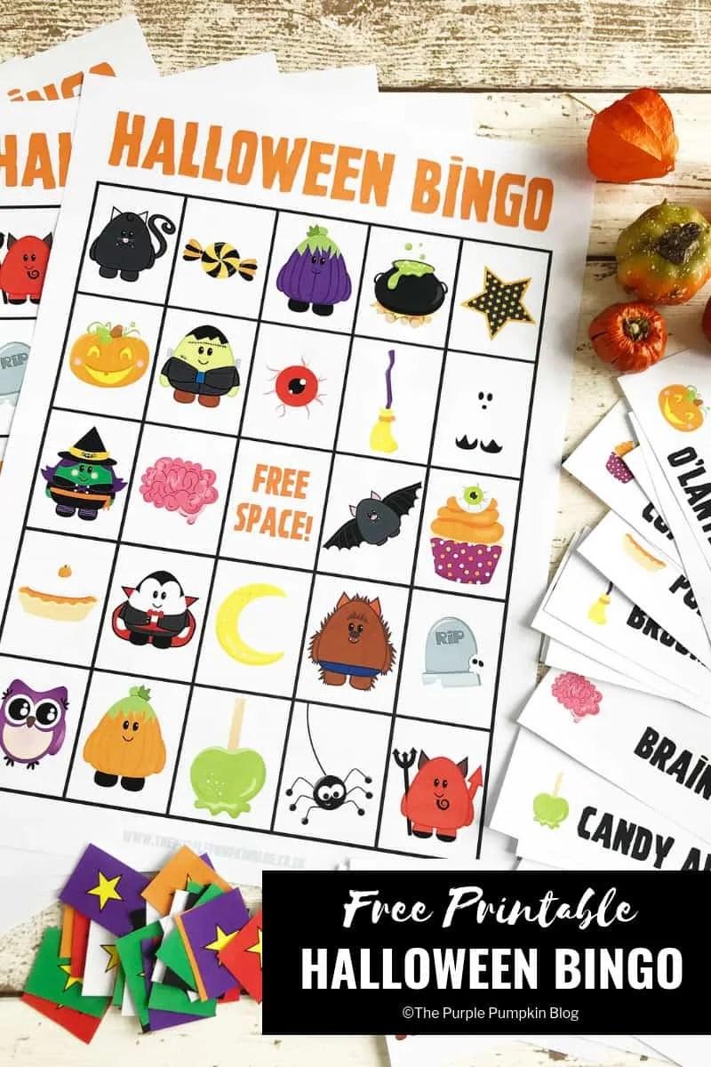 picture regarding Halloween Bingo Free Printable identified as Exciting Free of charge Printable Halloween Bingo Video game!