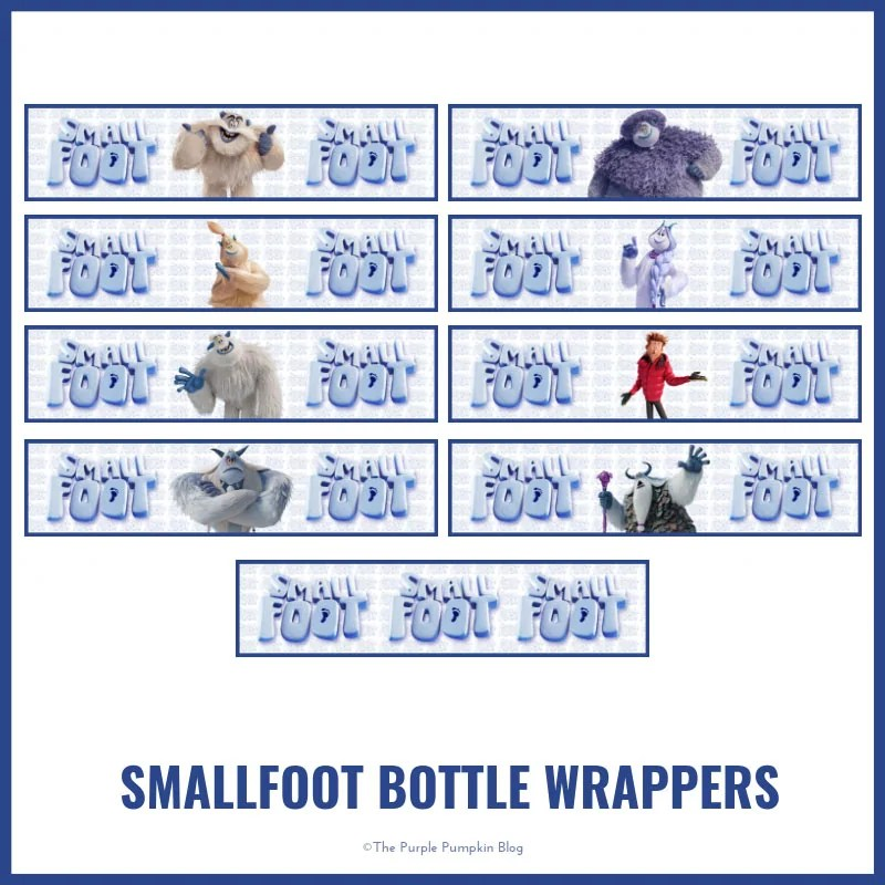 Smallfoot Bottle Wrappers