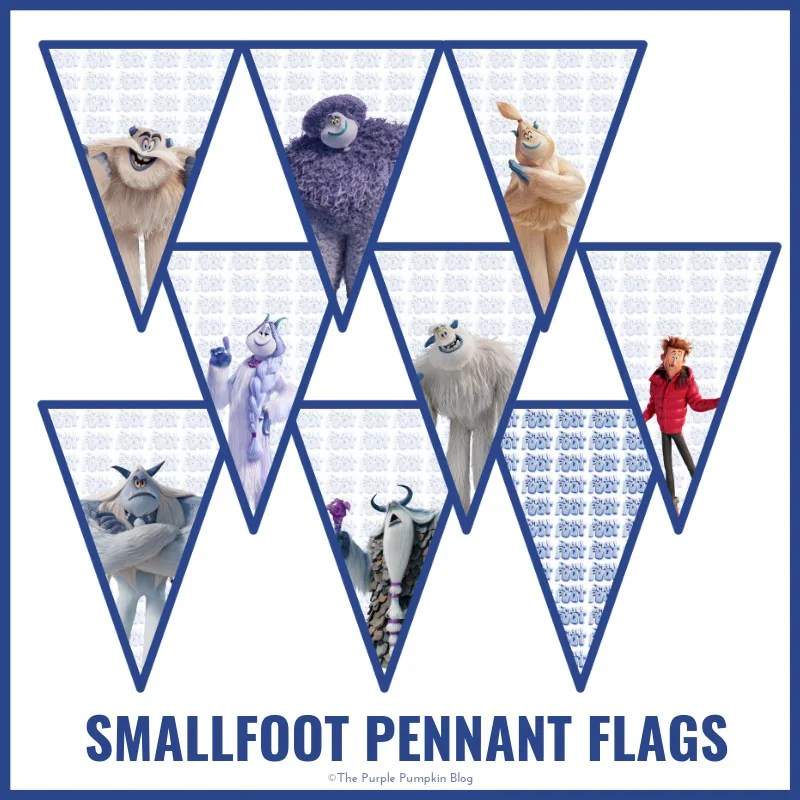 Smallfoot - Pennant-Flags