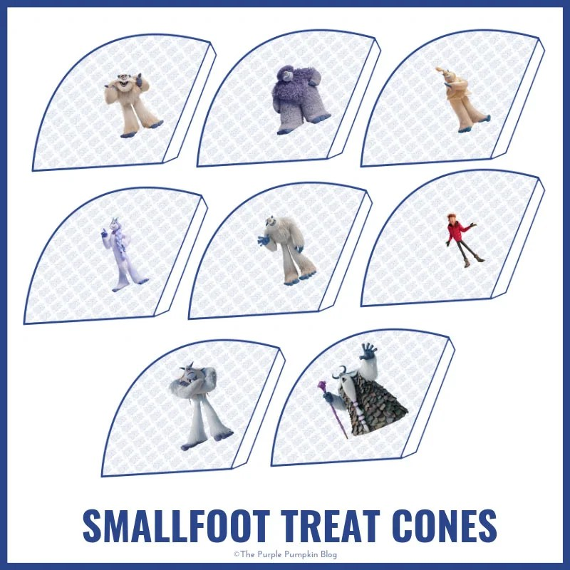 Smallfoot Treat Cones