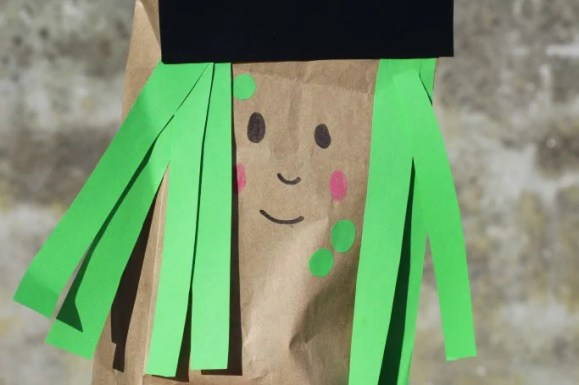 Paper Bag Witch
