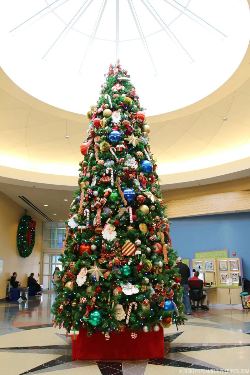 Disney's Pop Century Resort Christmas Trees & Decorations