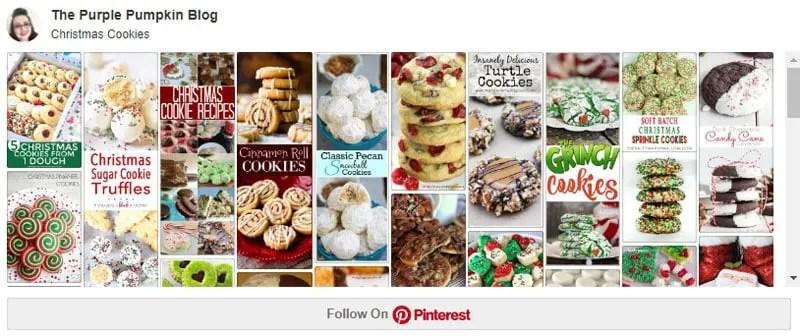 Christmas Cookies Pinterest Board