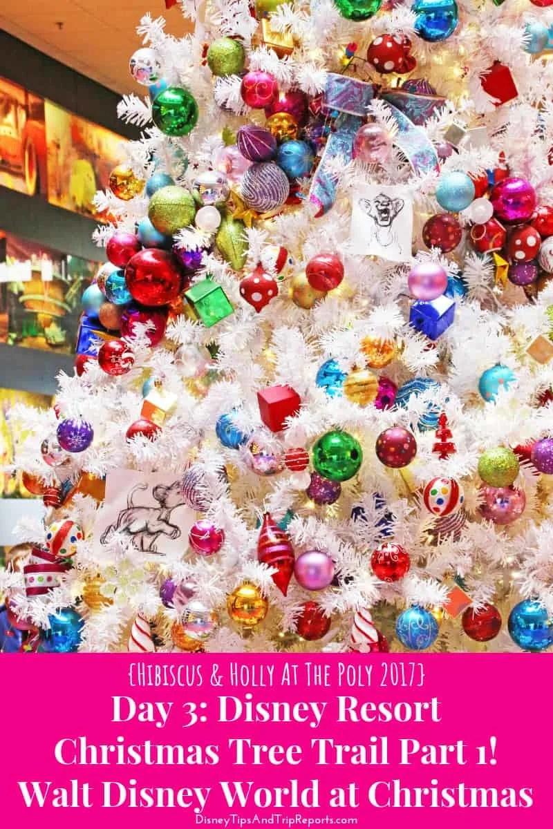Day 3: Disney Resort Christmas Tree Trail Part 1 / H&H@TP 2017