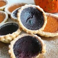 Mini Purple Pumpkin Pies