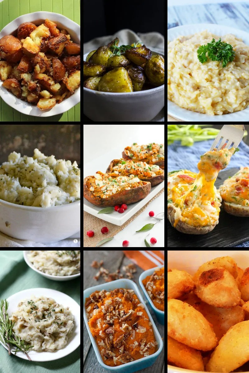 Christmas Side Dishes: Potatoes