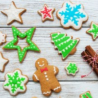 Christmas Iced Spice Biscuits