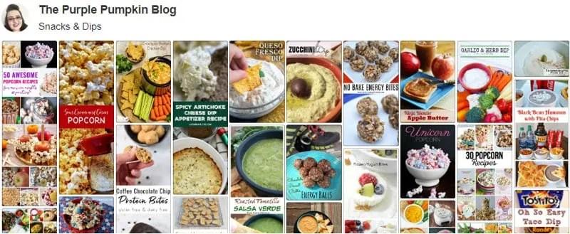 Snacks & Dips on Pinterest