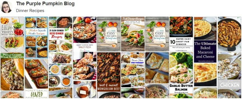 Dinner Recipes Board on Pinterest