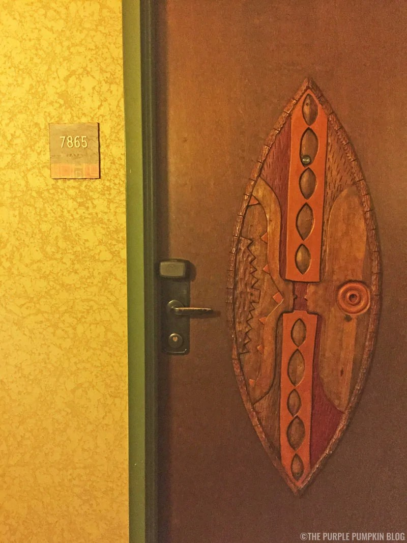 Animal Kingdom Lodge Room