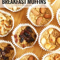 Banana Oat Breakfast Muffins