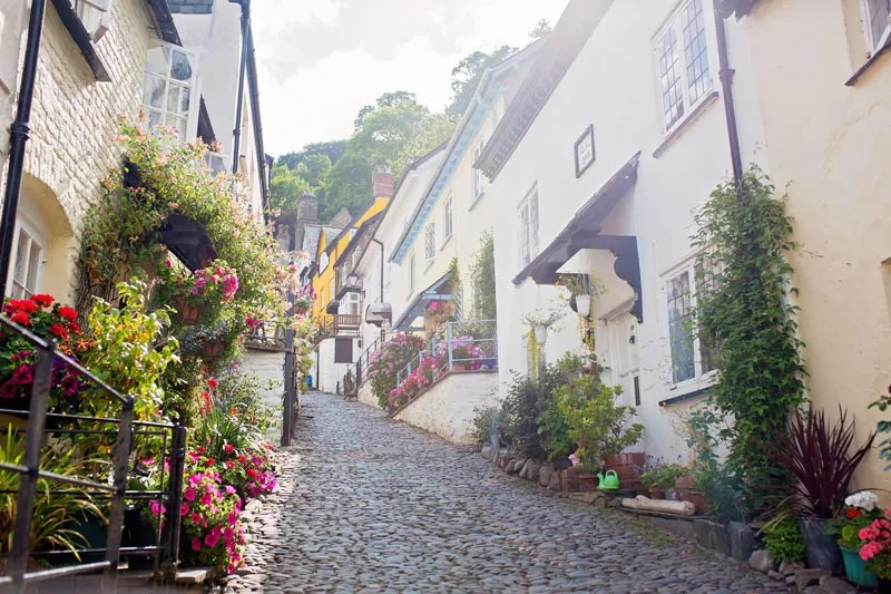Clovelly Cobbled Streets