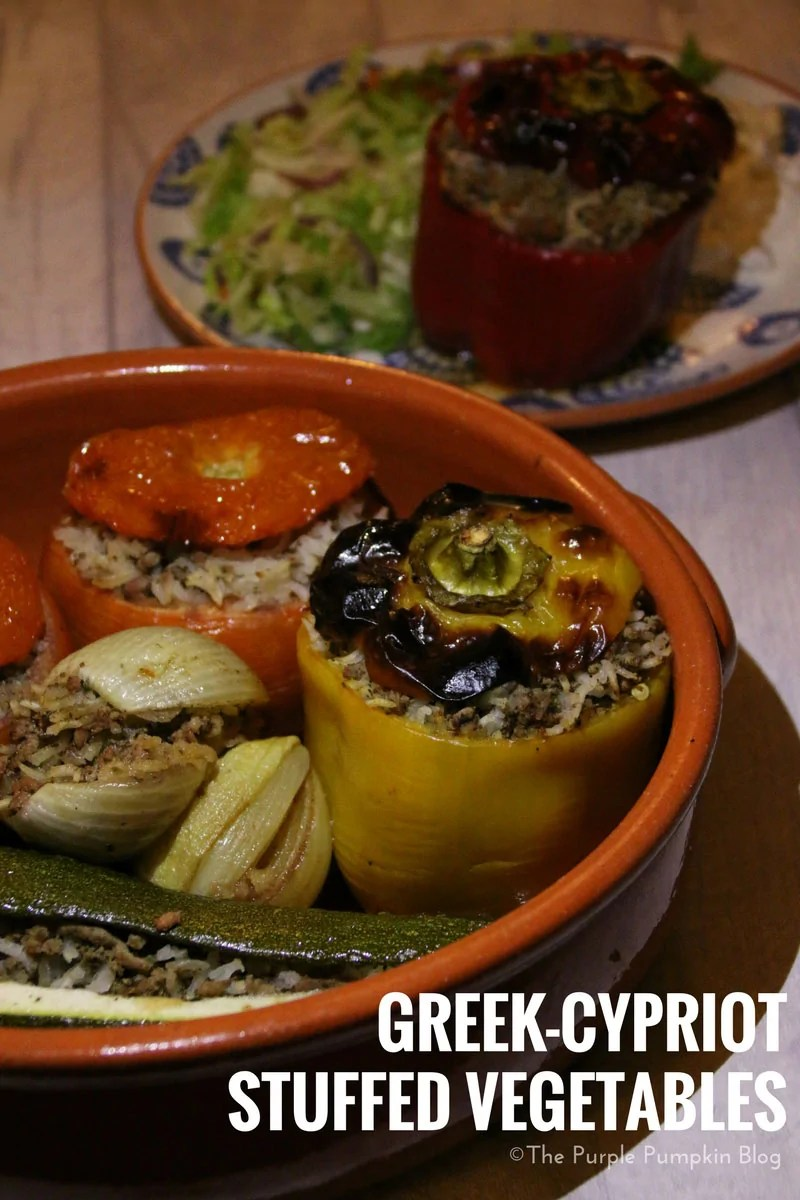 Greek Cypriot Stuffed Vegetables