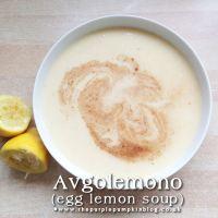 Avgolemono - Egg Lemon Soup