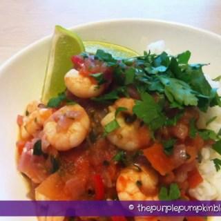 Spicy Creole Prawns - Under 400 Calories