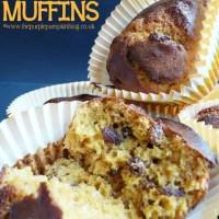 Pumpkin, Raisin & Pecan Muffins