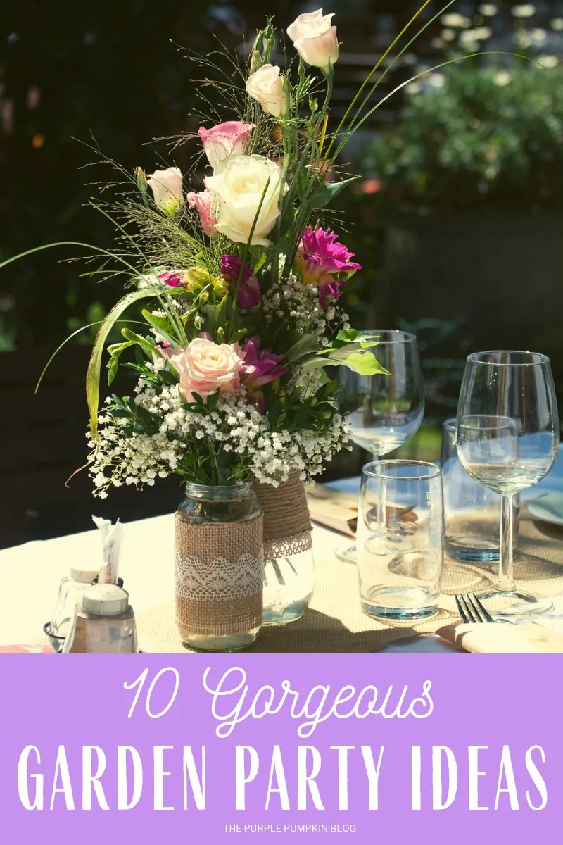 10 Gorgeous Garden Party Ideas