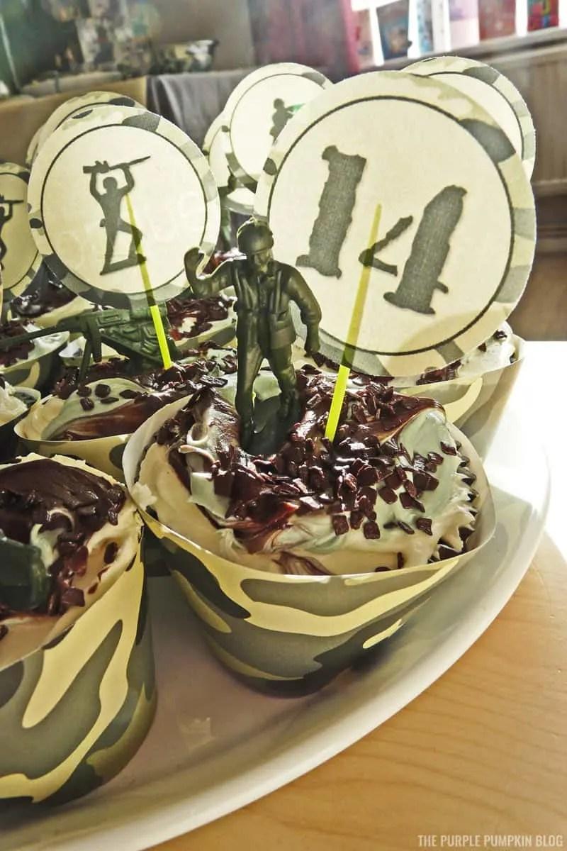 Army Cupcakes - Military Cupcakes