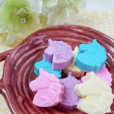 Homemade Unicorn Soaps