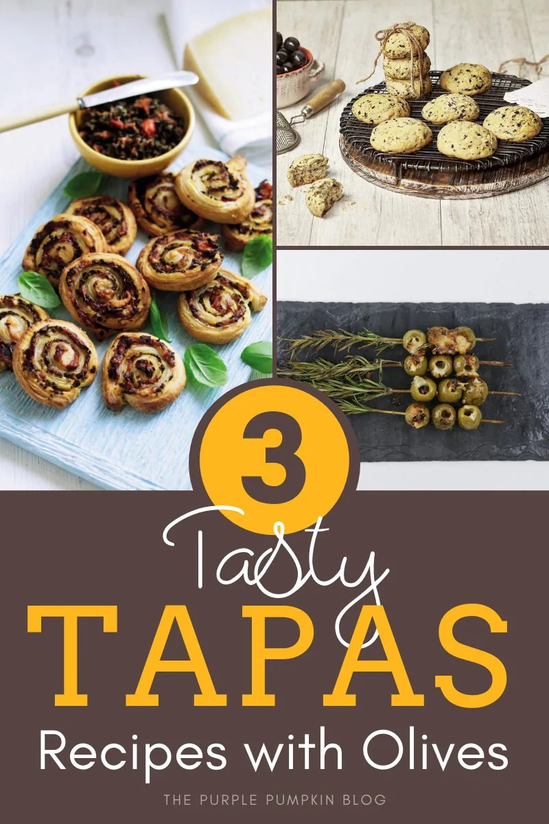 3 tapas recipes made with olives