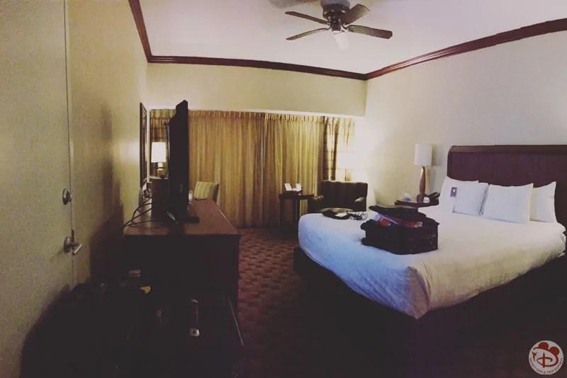Hotel room at Hyatt Regency Orlando Airport