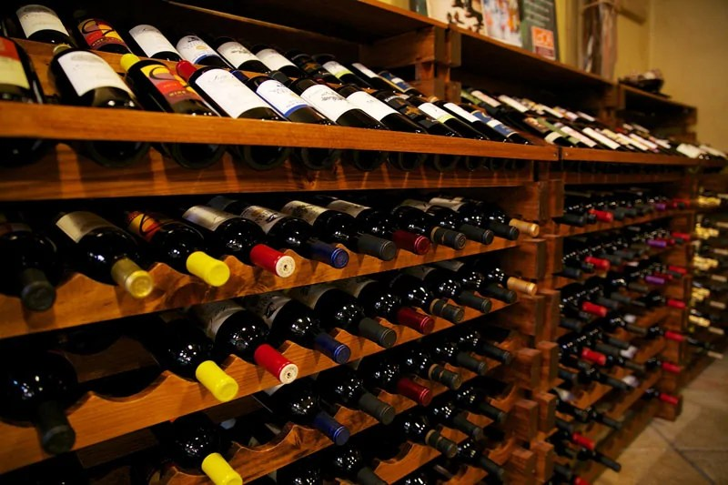 Wine Bottles, Sacramento, CA