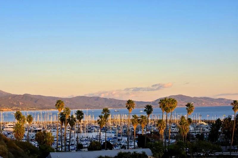 Vista of Santa Barbara, California