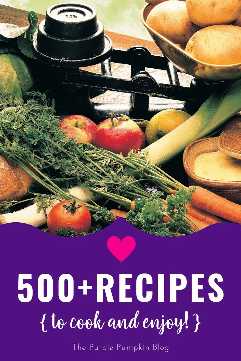 500+ Recipes to cook and enjoy!