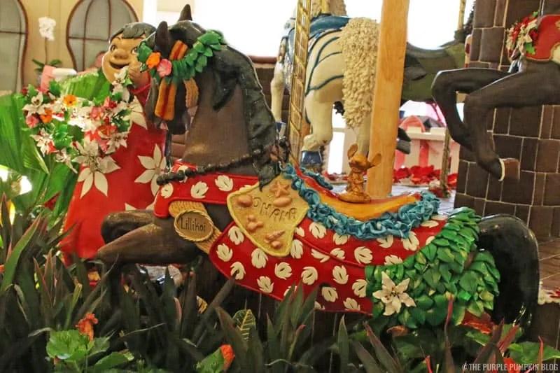 Beach Club - Gingerbread Carousel