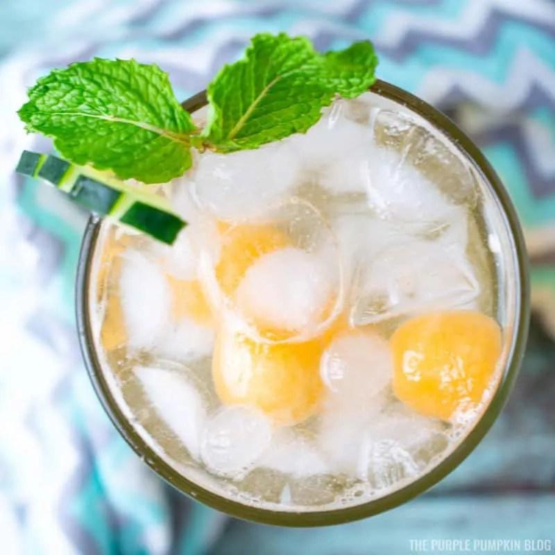 Cantaloupe Melon Mocktail