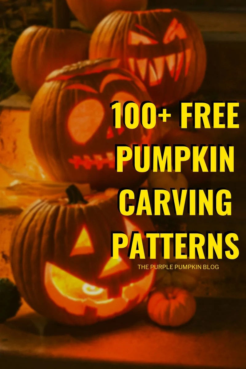 100+ Awesome Free Pumpkin Carving Patterns