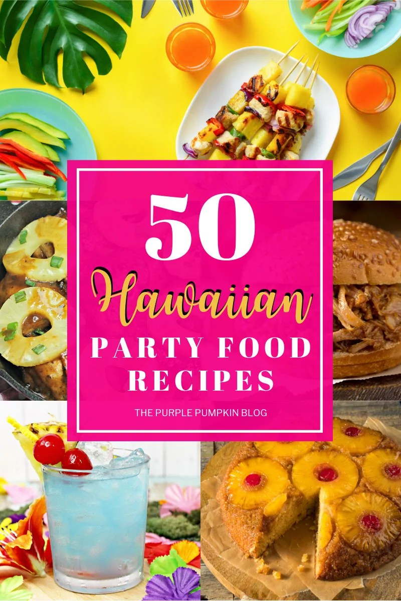 Pictures of Hawaiian Party food