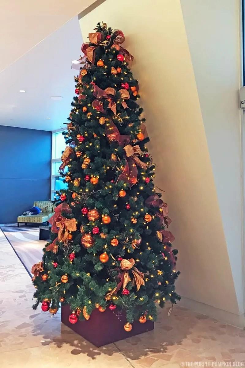 Contemporary Resort Christmas Tree