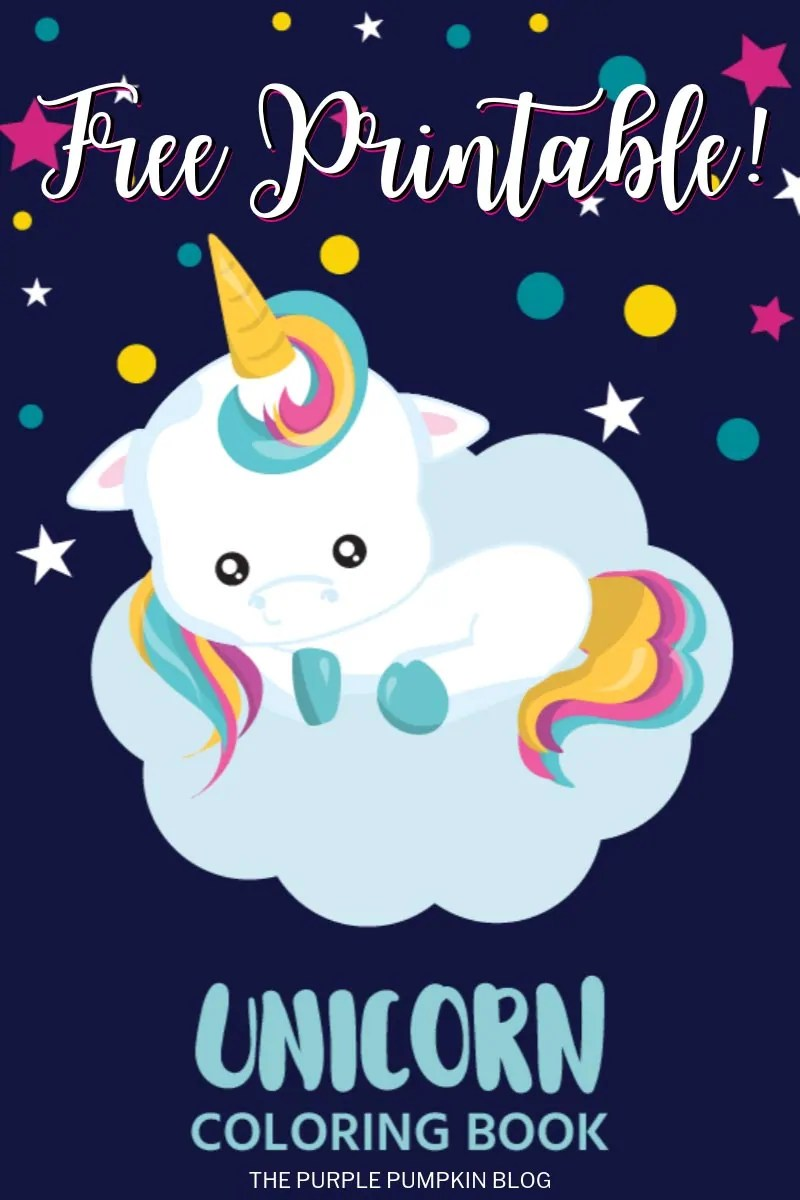 Free Printable Unicorn Coloring Book