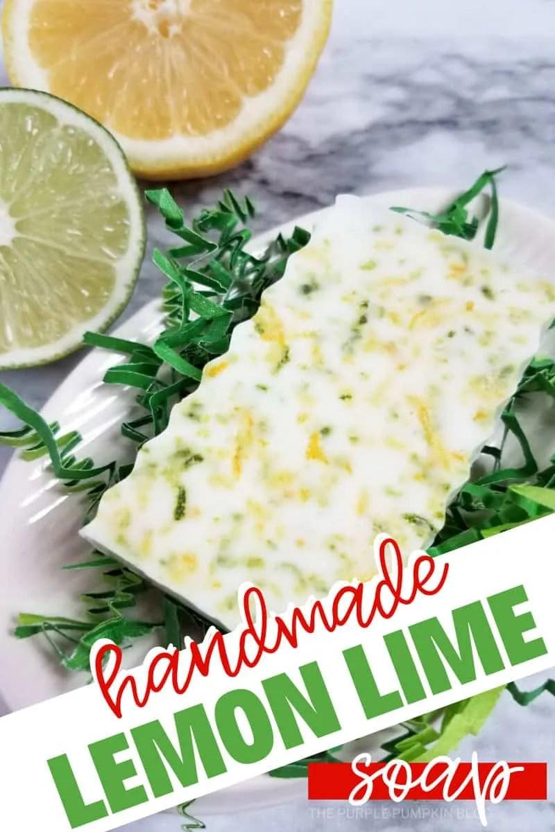 handmade lemon lime soap