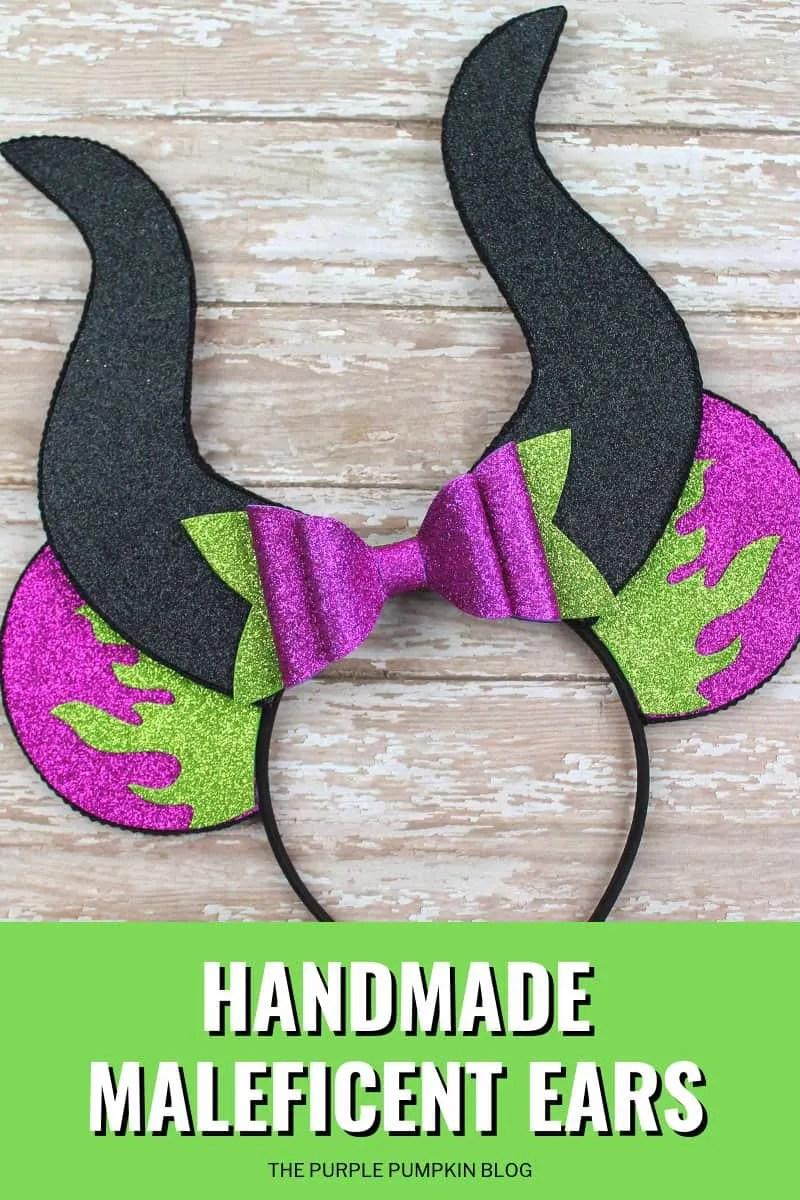 Handmade Maleficent Ears