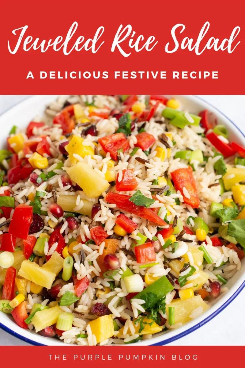 Jewelled Rice Salad - a delicious Festive recipe