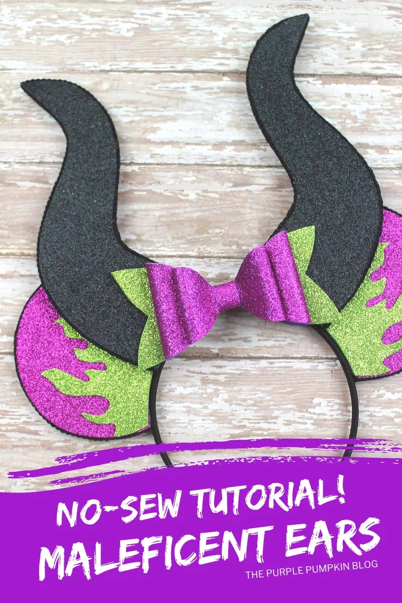 No-Sew Tutorial - Maleficent Ears!