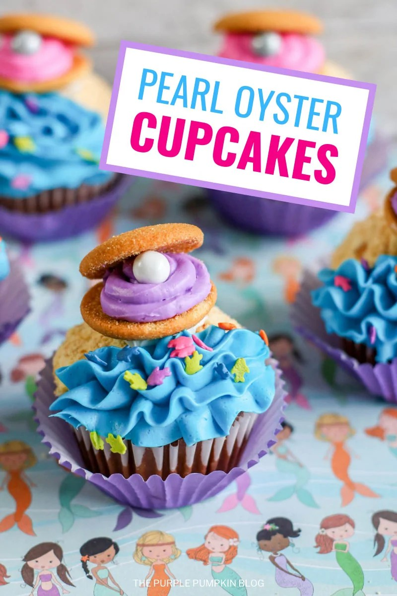 Pearl Oyster Cupcakes
