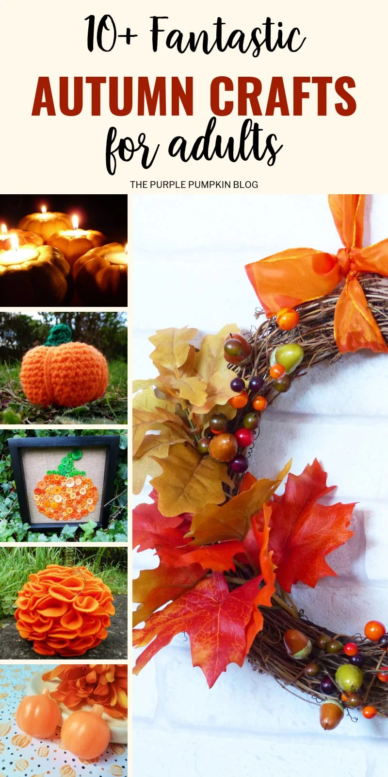 10+ Fantastic Autumn Crafts for adults