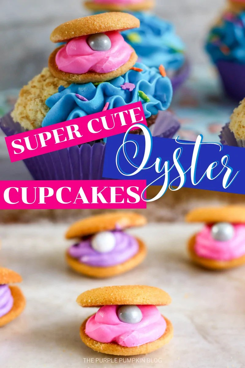 Super cute oyster cupcakes