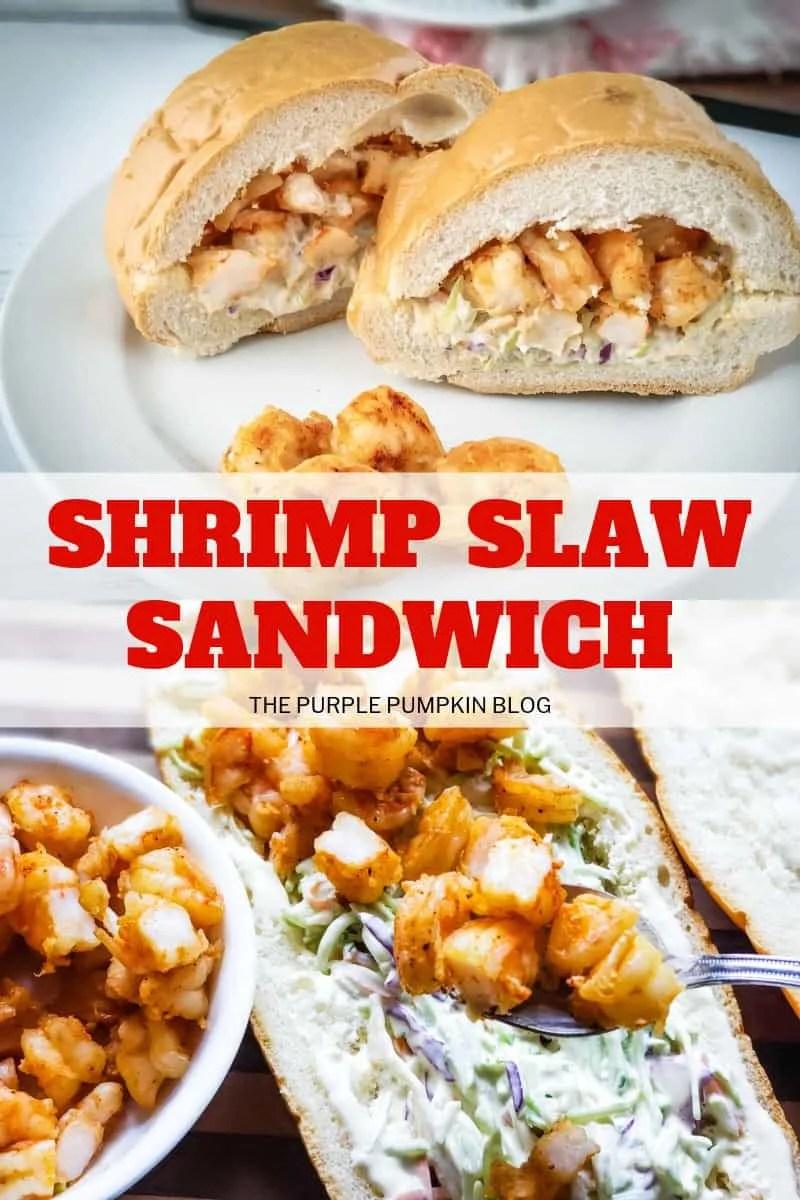 shrimp slaw sandwich
