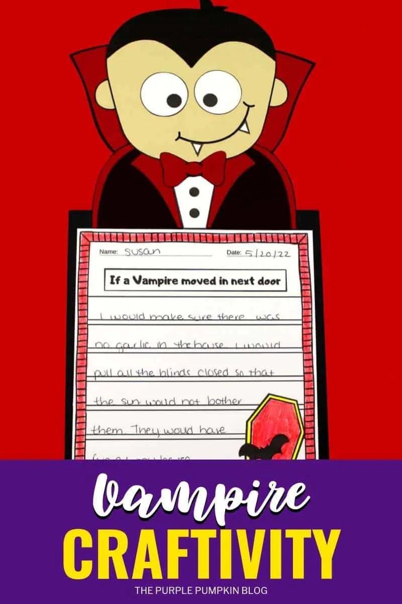 Vampire Craftivity