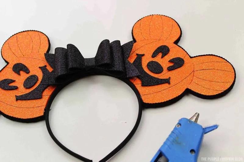 Glue Bow To Headband