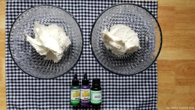 divided whipped soap