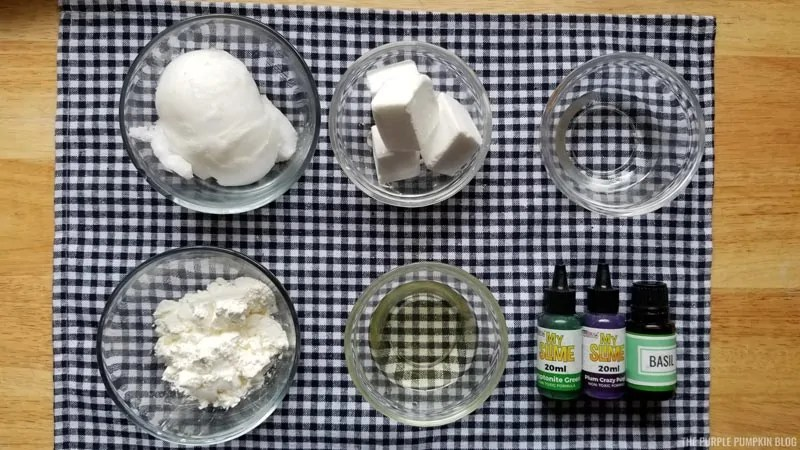 Whipped Soap Frosting Supplies