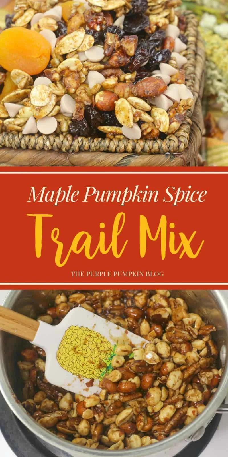 Maple pumpkin spice trail mix