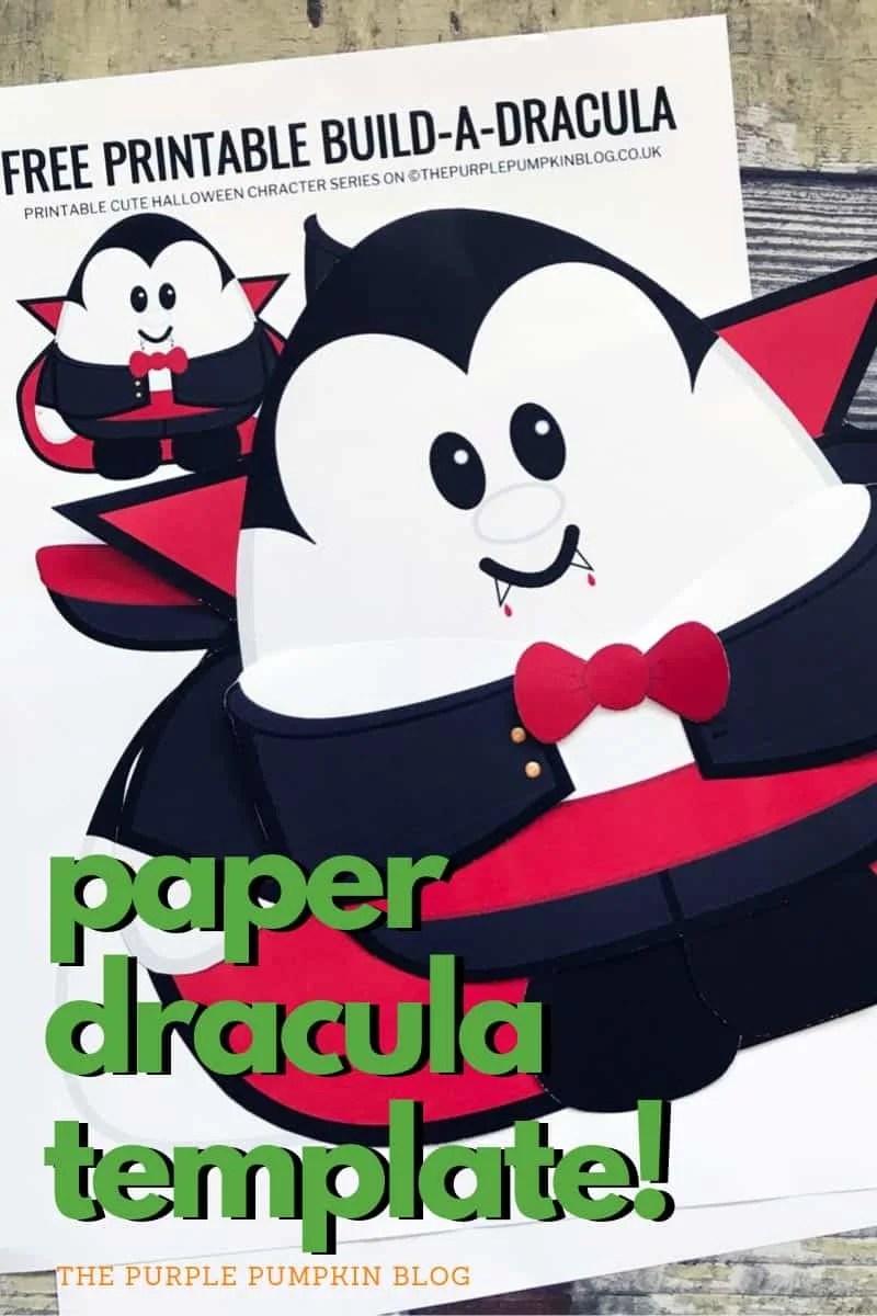 Paper Dracula Template