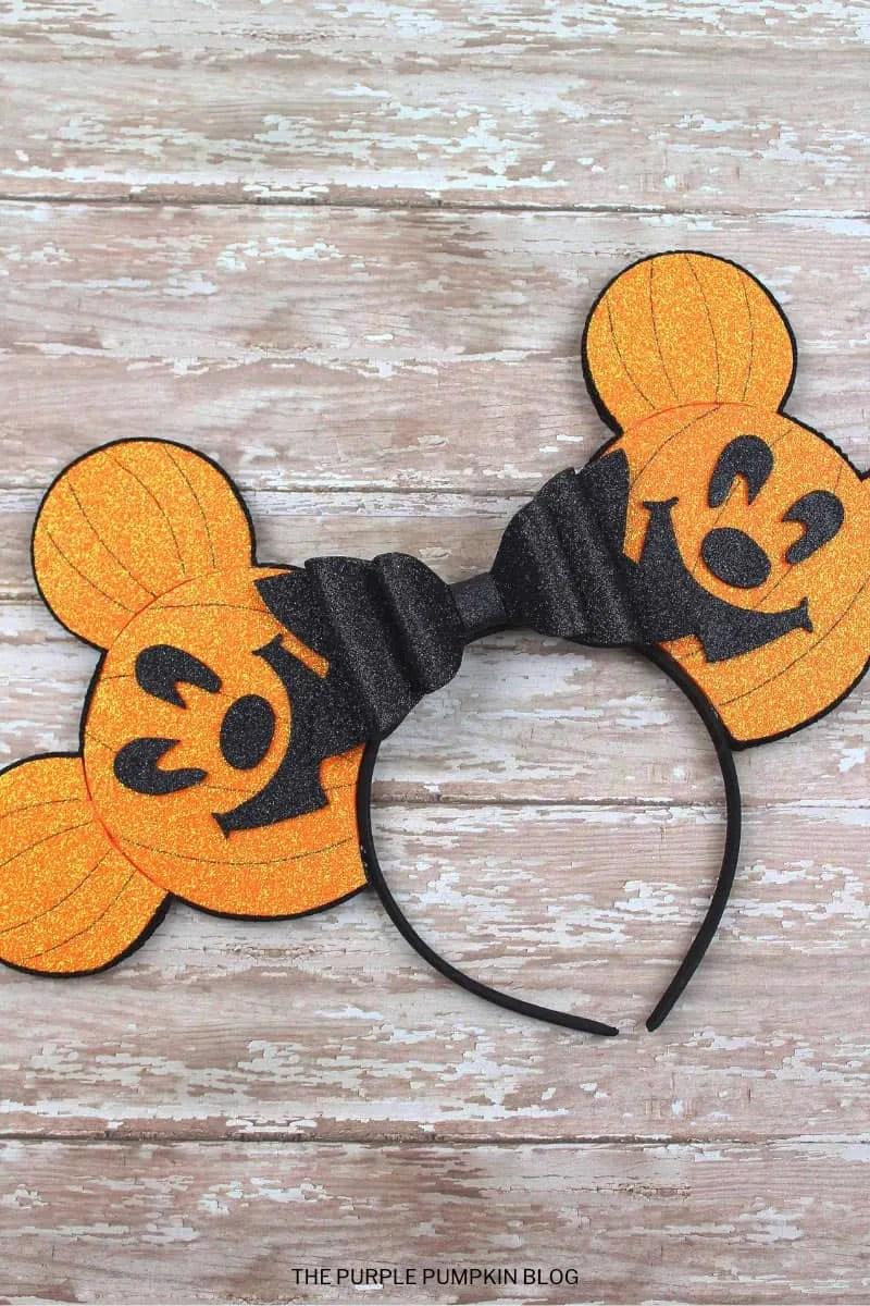 Pumpkin Mickey Ears