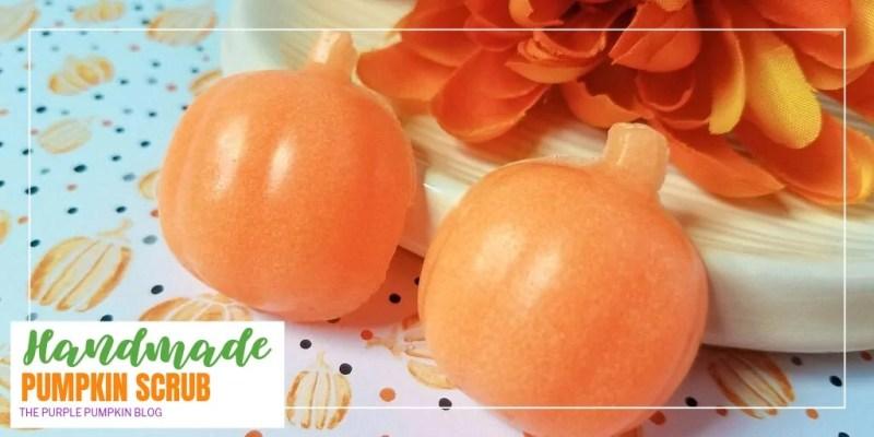 Handmade pumpkin scrub